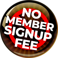 No Member Sign Up Fee