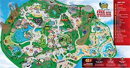 Park Map | Six Flags Great America