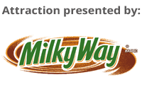 This attraction is sponsored by MILKYWAY
