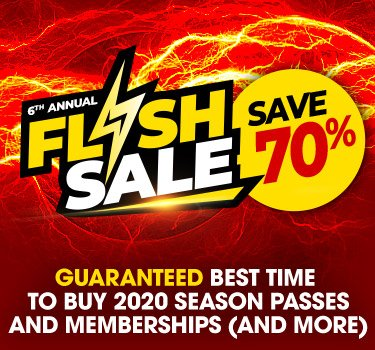 Flash Sale Season Passes & Memberships | Six Flags New England