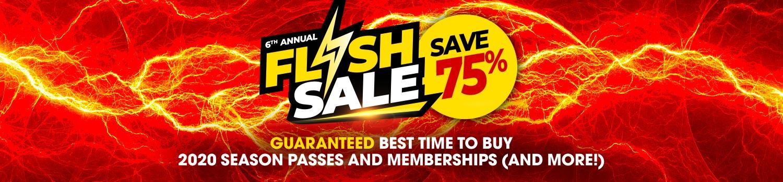 Flash Sale Season Passes & Memberships | Six Flags Over Texas