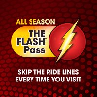 THE FLASH Pass | Six Flags Great Adventure